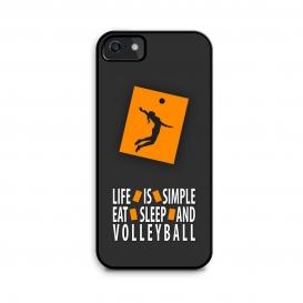 قاب والیبالی موبایل مدل Life Is Simple 02