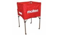 سبد توپ مولتن مدل Red Standard Square Ball Cart