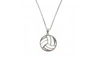 گردنبند نقره توپ والیبال مدل 01