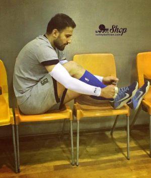 آقای مصطفی حیدری - بازیکن تیم ملی والیبال