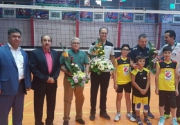 سمینار آموزشی والیبال با تدریس سرمربی تیم ملی ایران و اسپانسری فروشگاه اینترنتی والیبال ایران برگزار شد